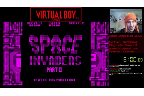 Virtual Boy Mania: #12 Space Invaders Virtual Collection ...