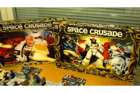 Unplugged gaming: Space Crusade - YouTube