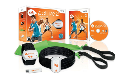 NEW EA Sports Active 2 Personal Trainer Bundle Nintendo ...