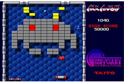 Arkanoid (Amiga) Game Download