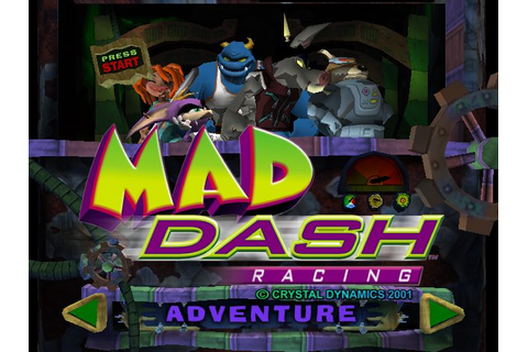 Mad Dash Racing (2001) by Crystal Dynamics Xbox game