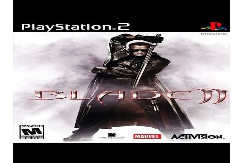 [Quick Look] Blade II [2002] - Playstation 2 HD - YouTube