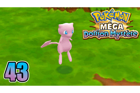 POKEMON MÉGA DONJON MYSTÈRE #43 THE POKEMON LEGENDAIRE ...