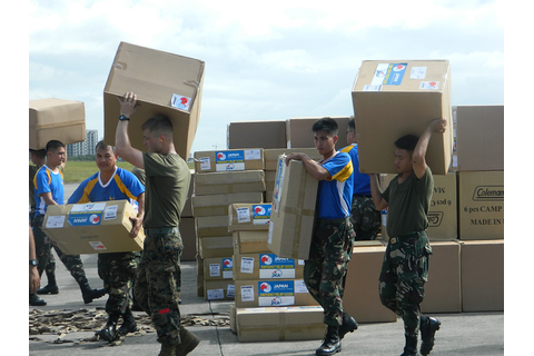 Humanitarian assistance and disaster relief operations of ...