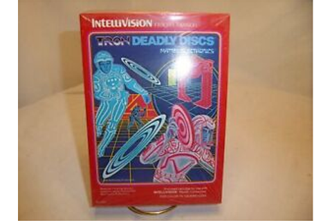 TRON Deadly Discs Video Game Intellivision New never ...