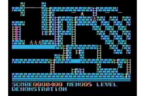 Championship Lode Runner (1985) by Sega SG-1000 game