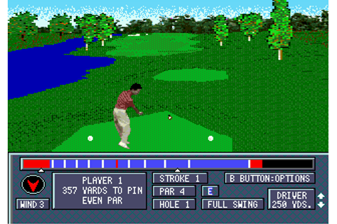 Play Jack Nicklaus' Power Challenge Golf Online - Play ...