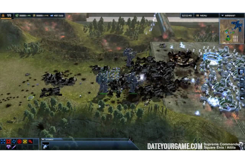 Supreme Commander 2 Gameplay 1 - YouTube