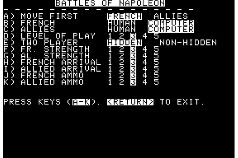 Download Battles of Napoleon - My Abandonware