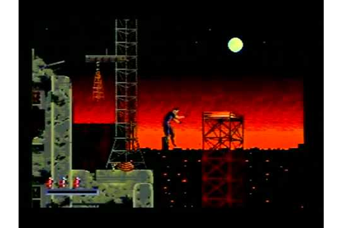 Demolition Man (Sega CD) - Level 1 (game over) (2011_01_01 ...