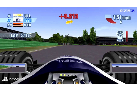 [PS1] F1 Championship Season 2000 Gameplay with eP - YouTube