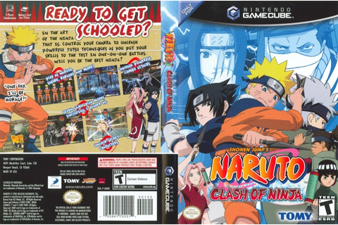 Naruto Clash Of Ninja ISO