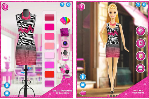 Barbie fashion designer doll game - Style Jeans