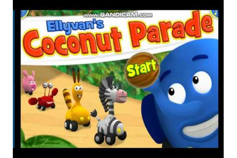 Jungle Junction game - Ellyvan's Coconut Parade - YouTube