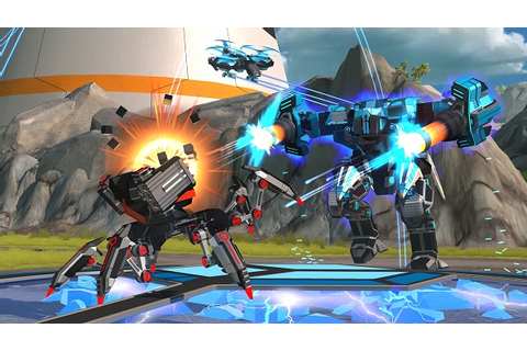 Multiplayer mech builder Robocraft gets quite the tune up ...
