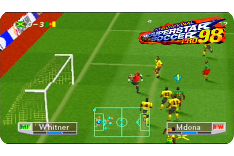 International SuperStar Soccer Pro 98 | Ps1 Español - YouTube