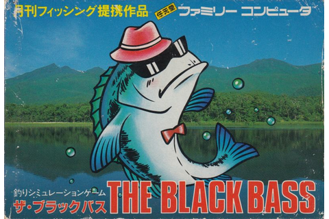 The Black Bass for NES (1987) - MobyGames