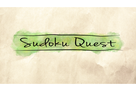 Sudoku Quest Windows game - Mod DB