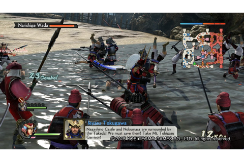 Samurai Warriors 4: Empires Ps4 - Impact Game