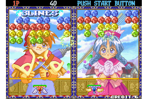 Puchi Carat: Gemstone Ohkoku no Sekai arcade video game by ...