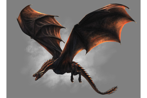 How to Paint Game of Thrones' Drogon in SketchBook | Game ...