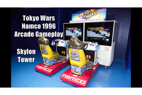 Watch me Play Namco's Tokyo Wars Arcade Game at the Skylon ...