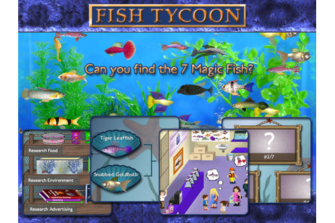 Fish Tycoon for Mac - Download