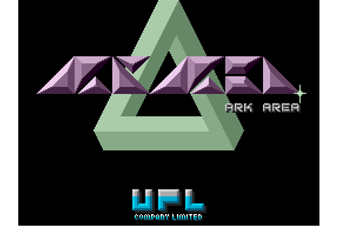 Ark Area arcade video game by UPL Co., Ltd. (1987)