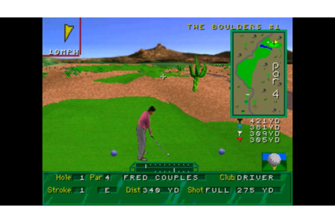 Golf Magazine: 36 Great Holes Starring Fred Couples -Sega ...