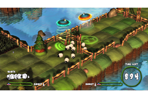 UFOs, Sheep, and Crop Circles Abound in Capcom's Flock ...