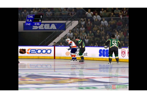 NHL 2K - Gameplay Dreamcast HD 720P - YouTube