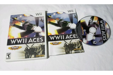 WWII Aces Nintendo Wii COMPLETE VIDEO GAME | eBay