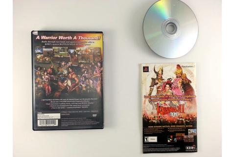 Dynasty Warriors 3 game for Playstation 2 (Complete) | The ...