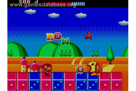 Alex Kidd: The Lost Stars - Sega Master System - Games ...