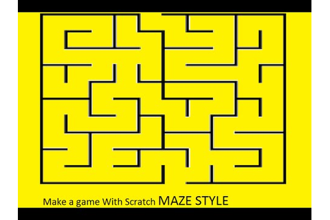 How to make a maze game on scratch - YouTube