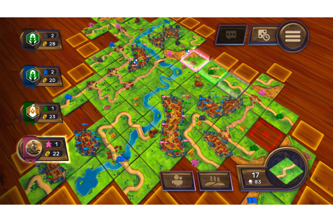 Carcassonne: The Official Board Game - Keymailer