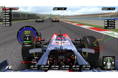 rFactor F1 2011 DRS and KERS Turkey Onboard Lap Eder ...