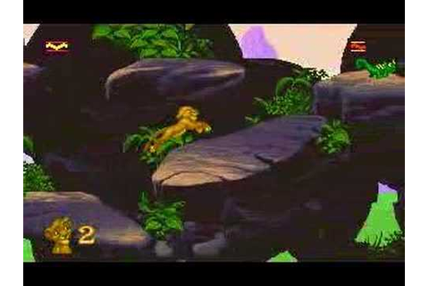 The Lion King (PC/DOS game) Pt. 1 - YouTube