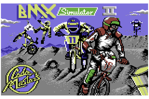 BMX Simulator 2 (1989) by Codemasters C64 game