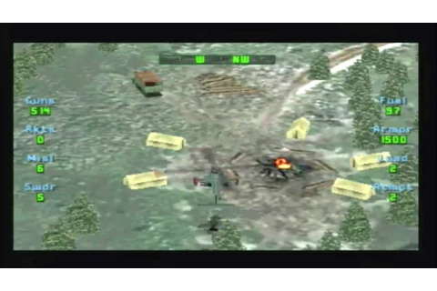 Soviet Strike PS1 - YouTube