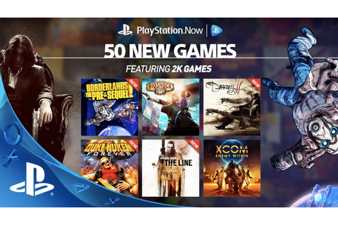 50 New Games on PS Now - YouTube