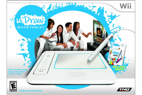 Amazon.com: uDraw GameTablet with uDraw Studio - Nintendo ...