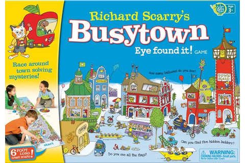 Richard Scarry's Busytown: Eye found it! Game - Board ...