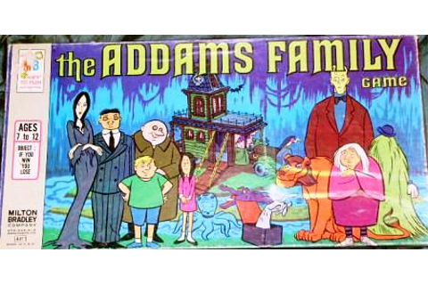 1970s Addams Family Board game | Joey Myers | Flickr
