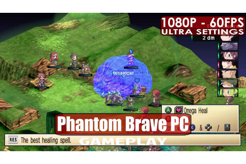 Phantom Brave PC gameplay PC HD [1080p/60fps] - YouTube