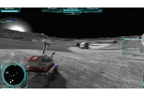 Nasa returns to the moon... in 3D game • The Register