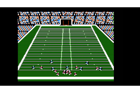 John Madden Football for the Apple II - YouTube
