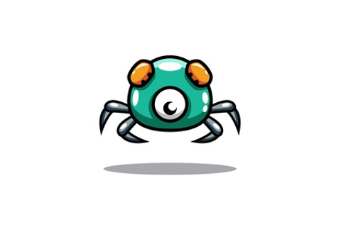 Crab Enemy Game Character by bevouliin - Dribbble