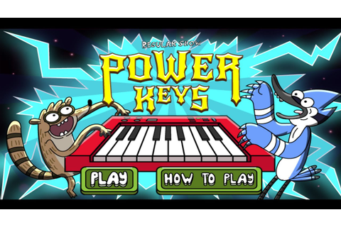 Cartoon Network Games | Regular Show | Power Keys - YouTube