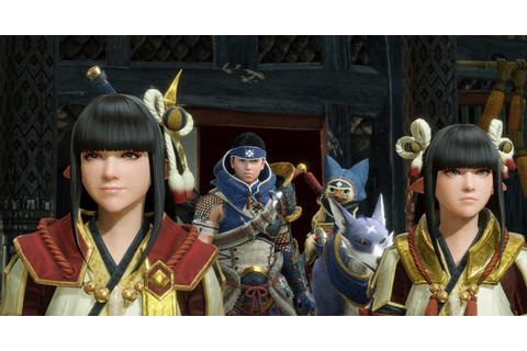 Monster Hunter Rise Gets Official Screenshots and Key Art ...